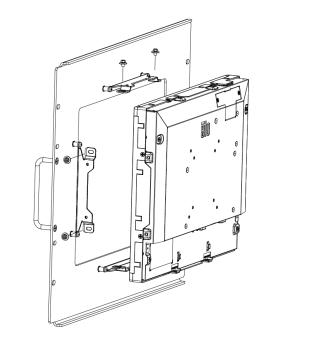 1590L Rack-Mount Bracket Kit