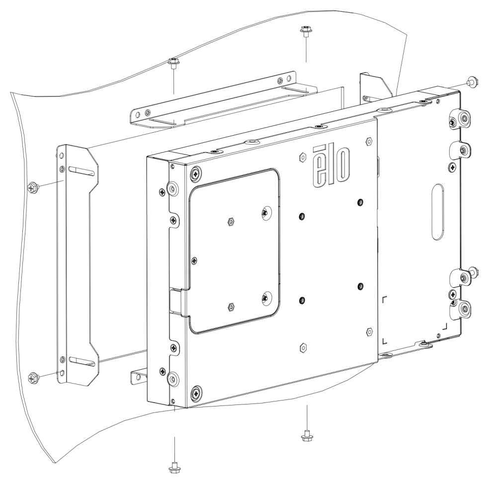 1593L Side Mounting  Bracket Kit